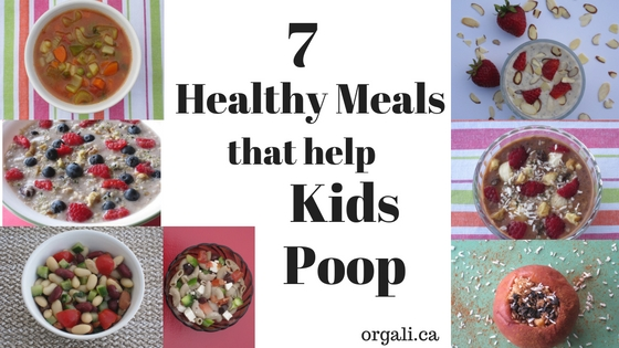 7 healthy meals that help children poop