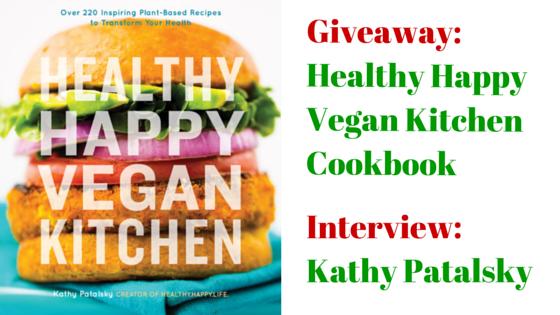 Healthy Happy Vegan Kitchen cookbook cover