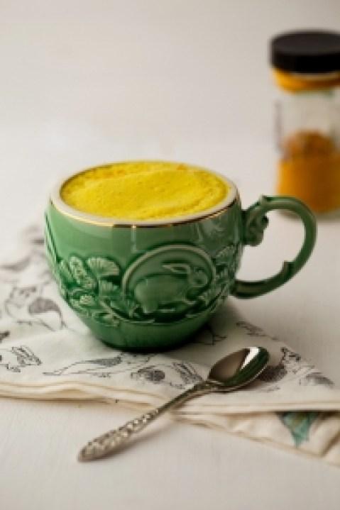 Yummy turmeric latte