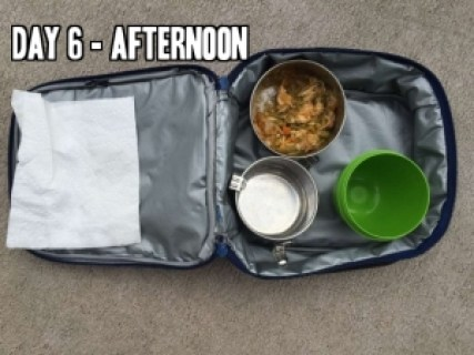 Day 6 school lunch idea