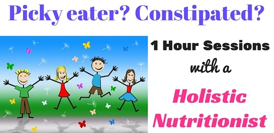 Do you have a picky eater or a constipated child? I can help you!