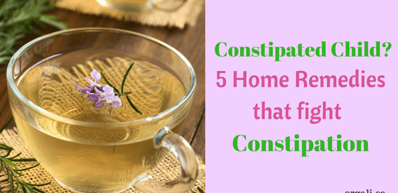 Home remedies that fight constipation