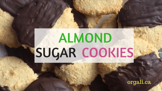 Delicious Almond sugar cookies