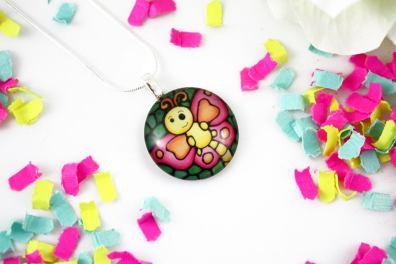 Kathy Lycka butterfly pendant