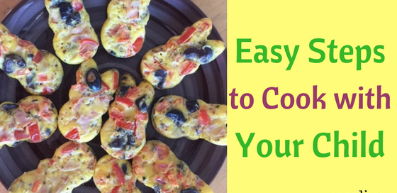 Easy ways - how to cook with your child