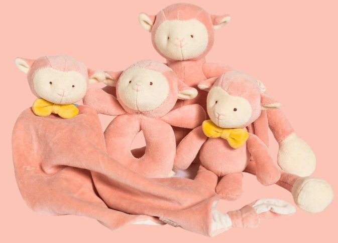 Annabelle1 300x216 - Who is Annabelle the Lamb? 4 Different Organic Cotton Lamb Items Available from miYim®