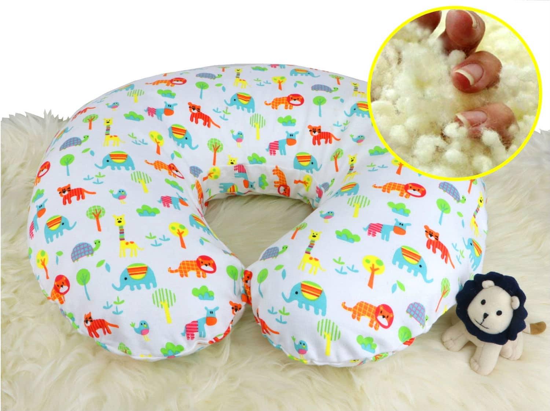 100 Natural Wool Nursing Pillow Positioner Organic Comfort Market