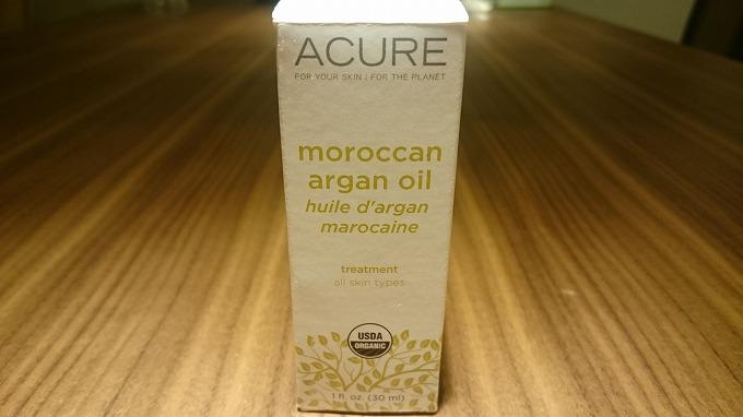 iHerb-Acure Organics社のアルガンオイル1