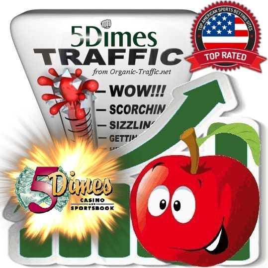 Buy 5Dimes.eu Web Traffic Service