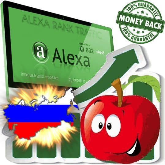 Buy Alexa Rank Traffic (Russia)