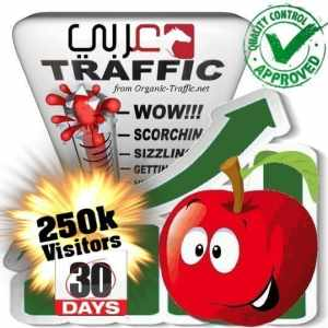 250k araby search traffic visitors 30days
