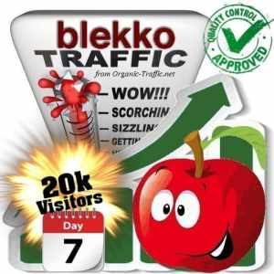 blekko search traffic visitors 7days 20k