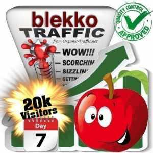 blekko search traffic visitors 7days 20k