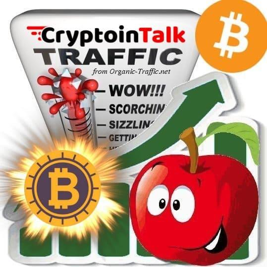 Buy CryptoInTalk.com Traffic Visitors