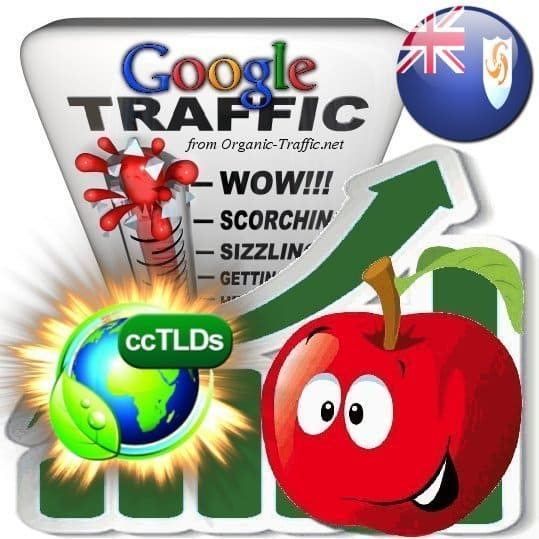 buy google anguilla organic traffic visitors