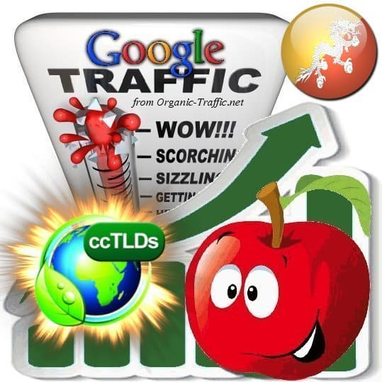 buy google bhutan organic traffic visitors