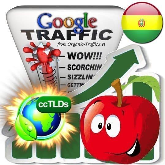 buy google bolivia organic traffic visitors