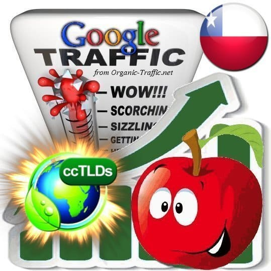buy google chile organic traffic visitors