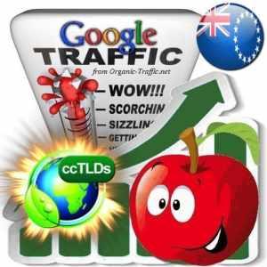 buy google cook islands organic traffic visitors