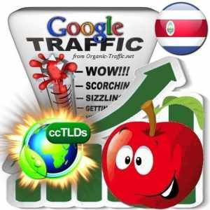 buy google costa rica organic traffic visitors