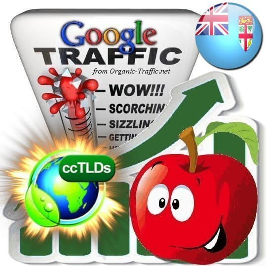 buy google fiji organic traffic visitors