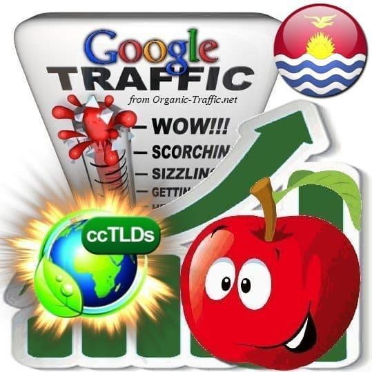 buy google kiribati organic traffic visitors