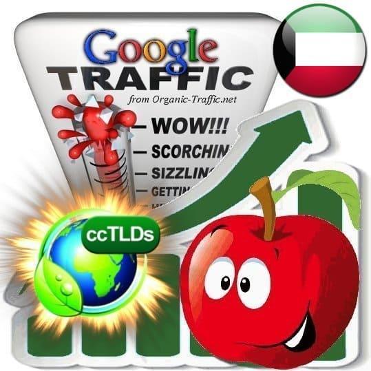 buy google kuwait organic traffic visitors