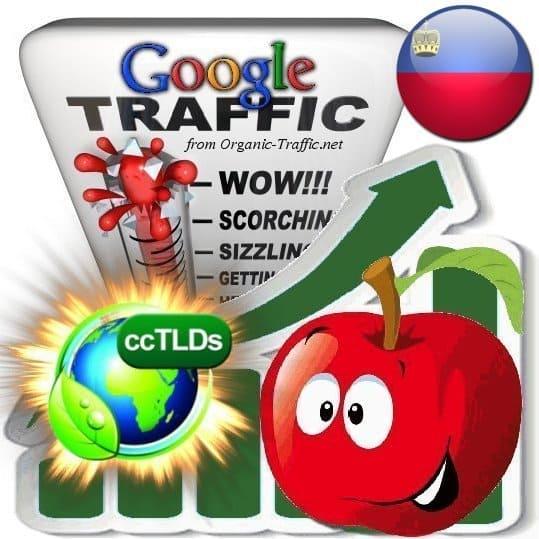 buy google liechtenstein organic traffic visitors