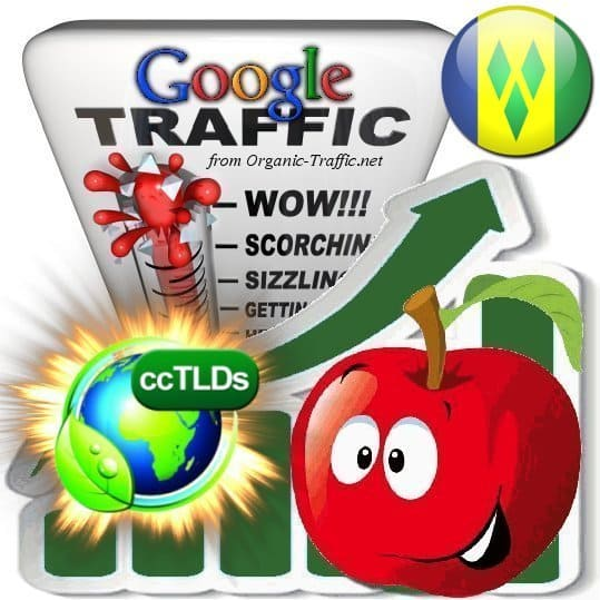 buy google saint vincent and the grenadines organic traffic visitors
