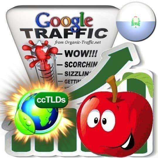 buy google san marino organic traffic visitors