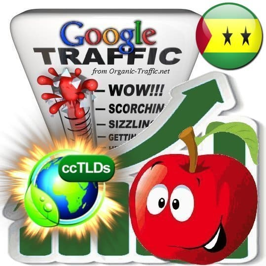 buy google sao tome and principe organic traffic visitors
