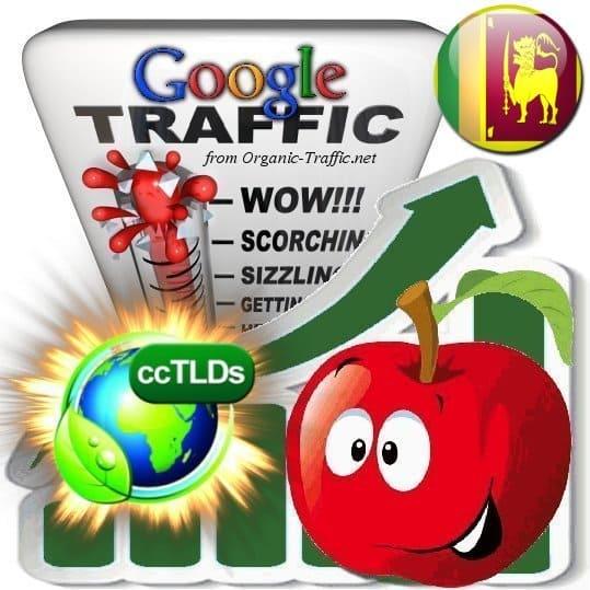 buy google sri lanka organic traffic visitors