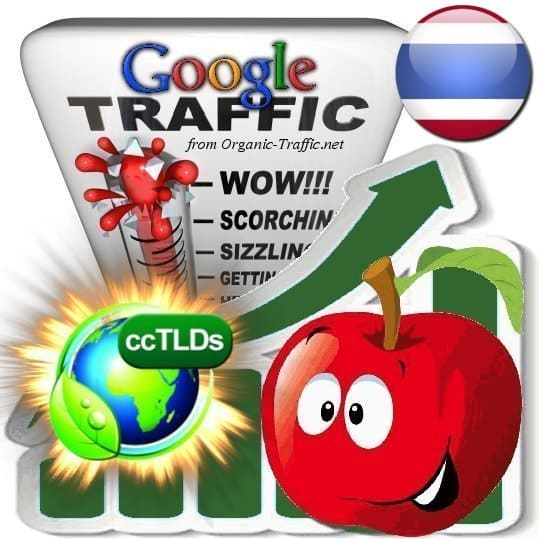 buy google thailand organic traffic visitors
