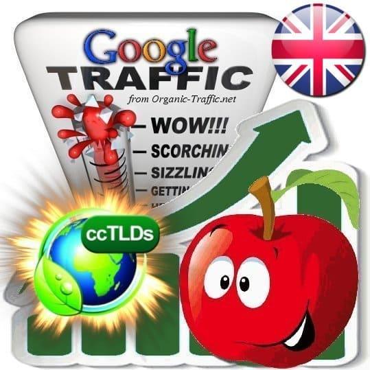 buy google united kingdom organic traffic visitors