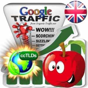 buy google united kingdom organic traffic visitors