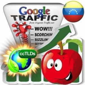 buy google venezuela organic traffic visitors