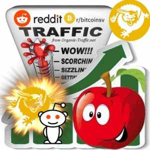 Buy Reddit r/BitcoinSV Webtraffic