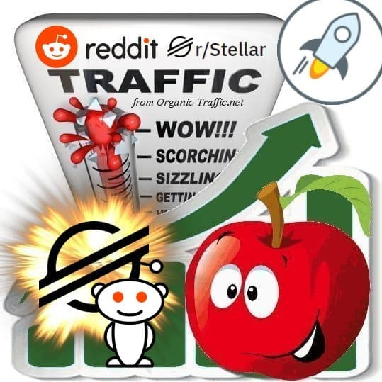 Buy Reddit r/Stellar XLM Visitors