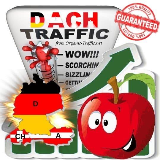 D-A-CH Web Traffic Service