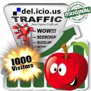buy 1000 delicious social traffic visitors