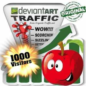 buy 1000 deviantart social traffic visitors