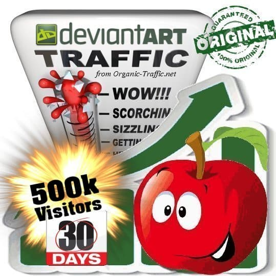 buy 500k deviantart social traffic visitors in 30 days