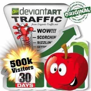 buy 500k deviantart social traffic visitors in 30 days