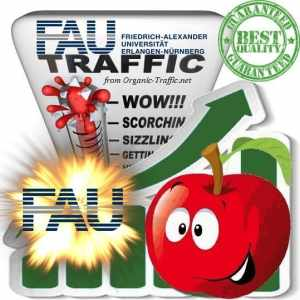 Buy German Web Traffic » FAU.de