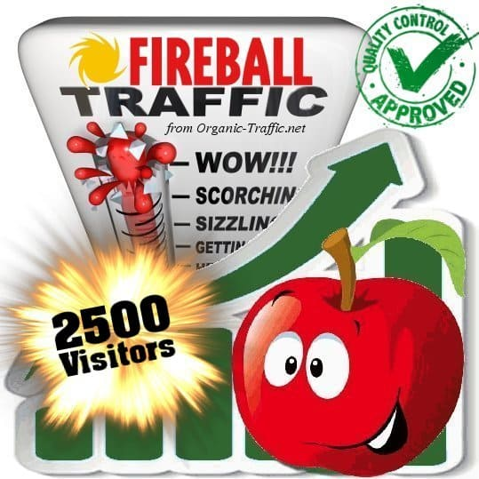 fireball search traffic visitors 2500
