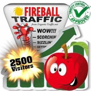 fireball search traffic visitors 2500