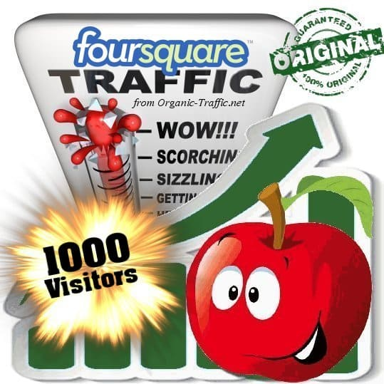 buy 1000 foursquare social traffic visitors