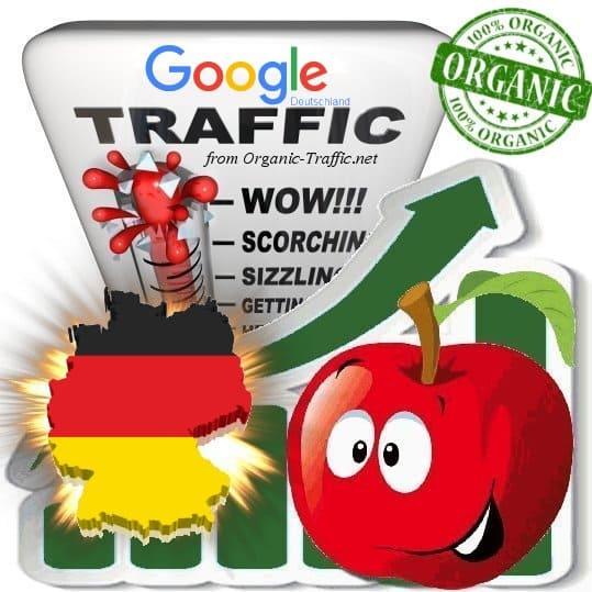 Google Deutschland Web Traffic