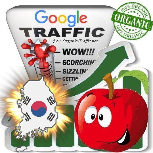 South Korean Google Search Traffic