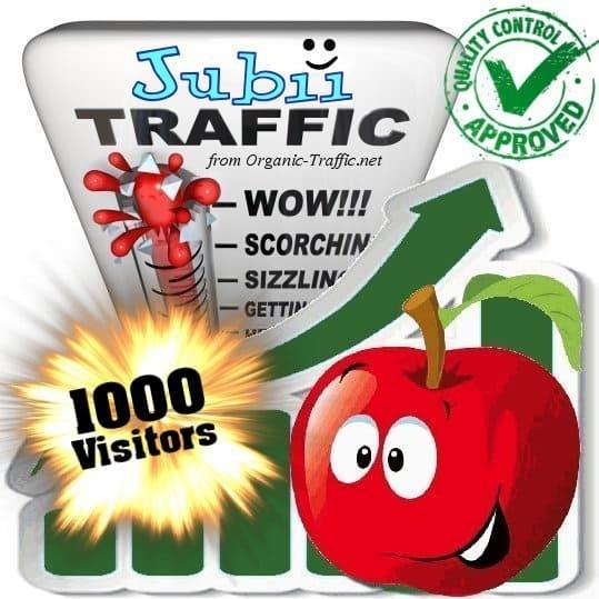 buy 1000 jubii search traffic visitors